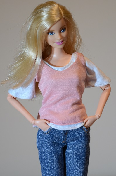 Everyday clothes for Barbie dolls.