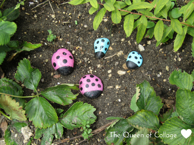 How to Make Colourful Lady Bugs