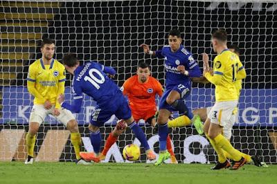 ملخص واهداف مباراة ليستر سيتي وبرايتون (3-0) الدوري الانجليزي