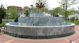 An interesting looking fountain