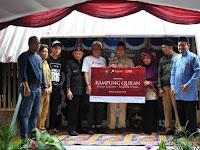 Dari Donasi TCash dan Gopay, PPPA Daarul Qur'an Bangun Puluhan Rumah Qur'an di Lombok