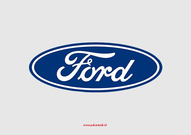 Logo Ford Format CDR AI dan PNG