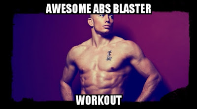awesome abs laster workout