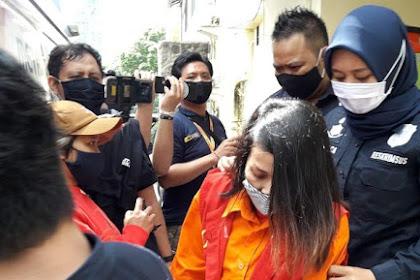Berbaju Orange, Terkuak, Modus Perempuan Penyebar Hoax 'Video Syur' Mirip Syahrini