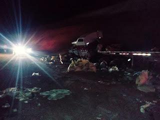 Choque entre patanas deja un muerto y un herido en la carretera Azua/Barahona,
