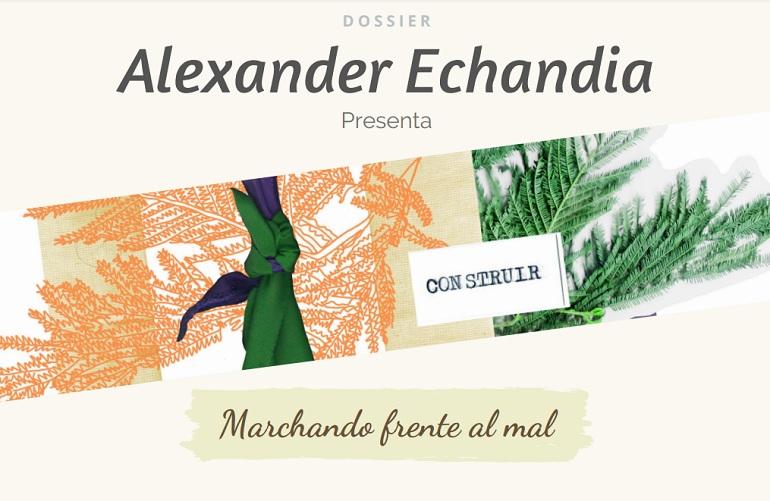 """Alexander Echandia presenta """"Marchando frente al mal"""" su nueva producción musical"""