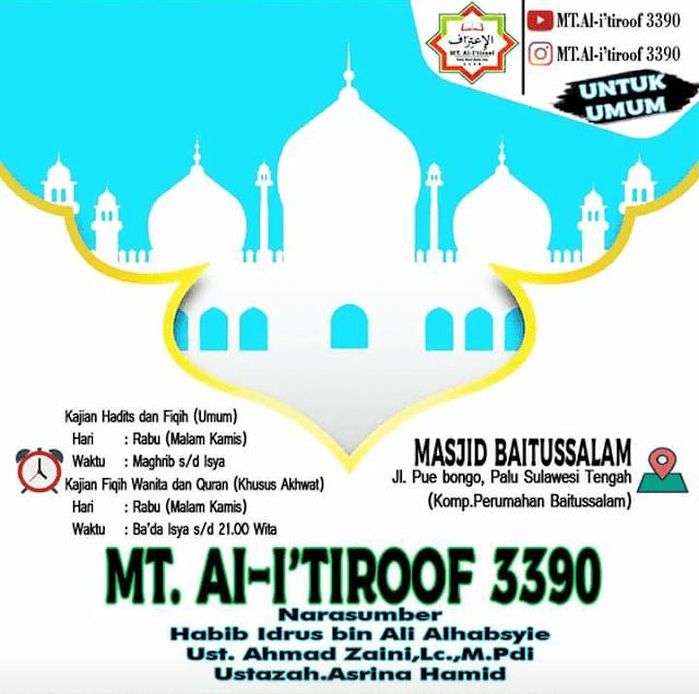 Info Majelis Kota Palu: Jadwal Majelis Ta'lim Al-I'tiroof