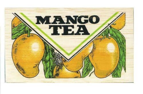 Mlesna Mango Ceylon Tea 100g in Wooden Box pure organic natural best tea