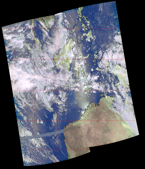 Composite Image from NOAA-19 Satellites