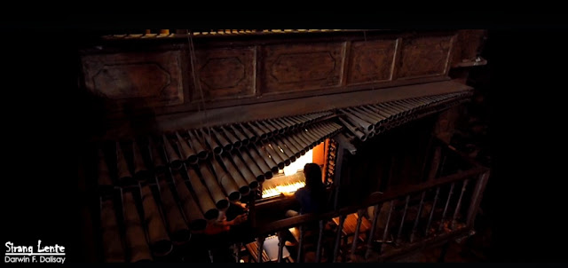 Who built the bamboo Organ