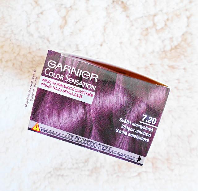 Garnier Color Sensation farba na vlasy Light Ametyste recenzia