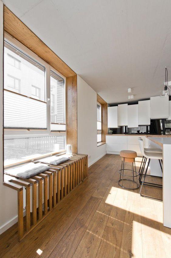 Un banco bajo la ventana ¡Ideas para vuestra casa!_23