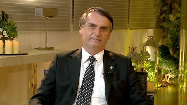 Entrevista de Jair Bolsonaro para Mariana Godoy