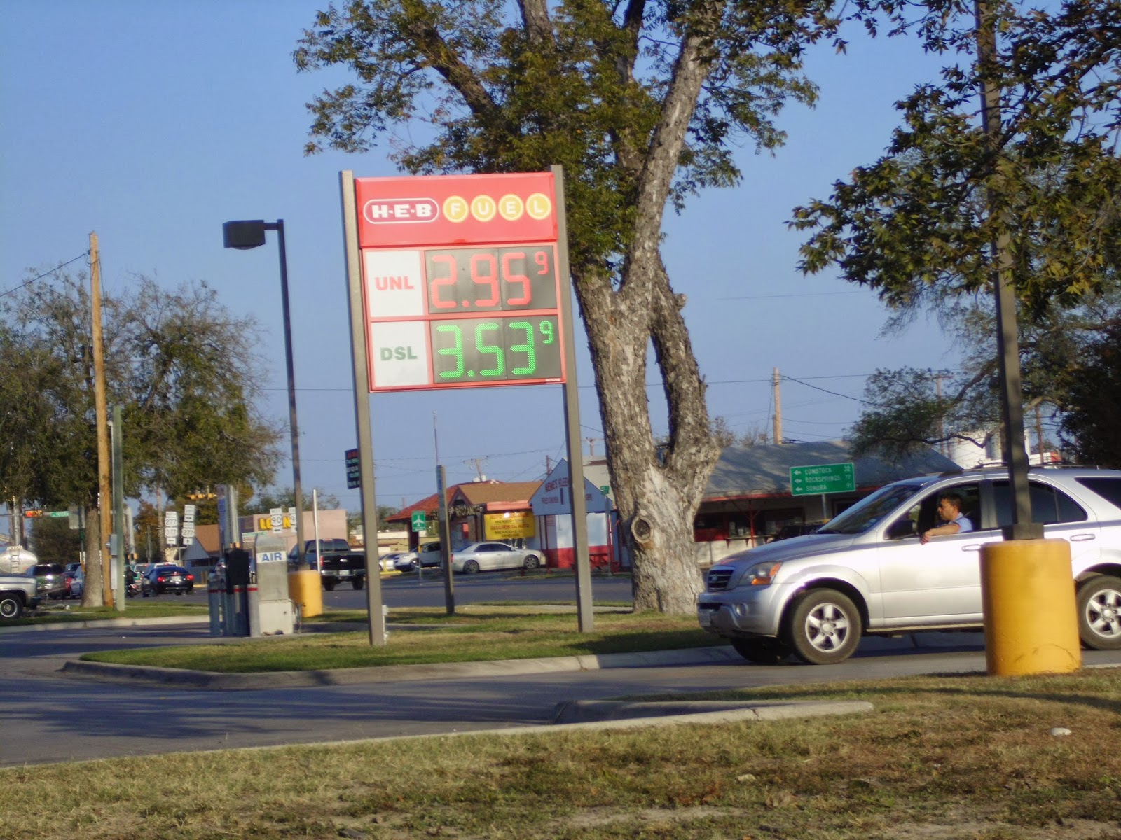 Heb Gas Prices >> Terlingua Dreams Darn Gas Prices On The Rise