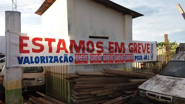 Agentes Penitenciários em Guajará-Mirim aderem greve