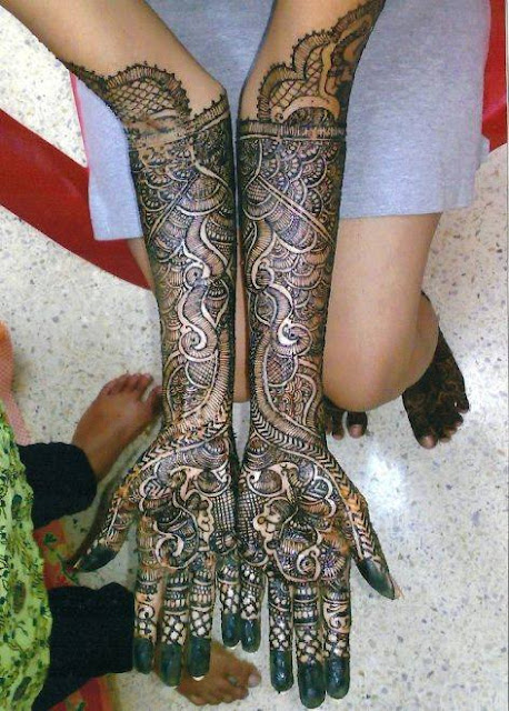 Indian Henna Designs For Full Hands