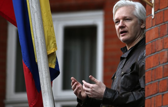 Ecuador's president says Julian Assange can stay in embassy 'with conditions'