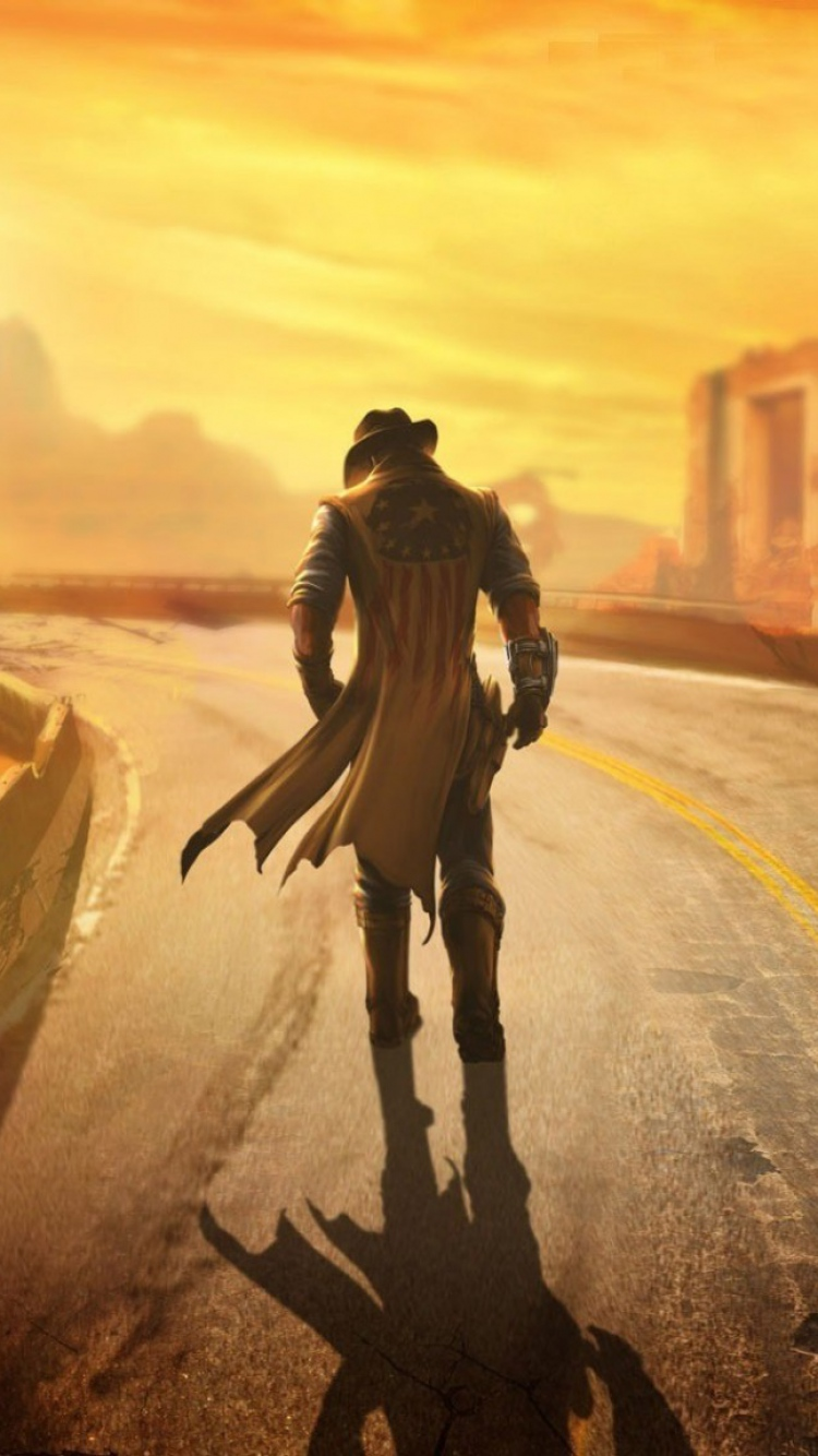 Iphone Fallout New Vegas Wasteland Wallpaper Iphone Wallpapers