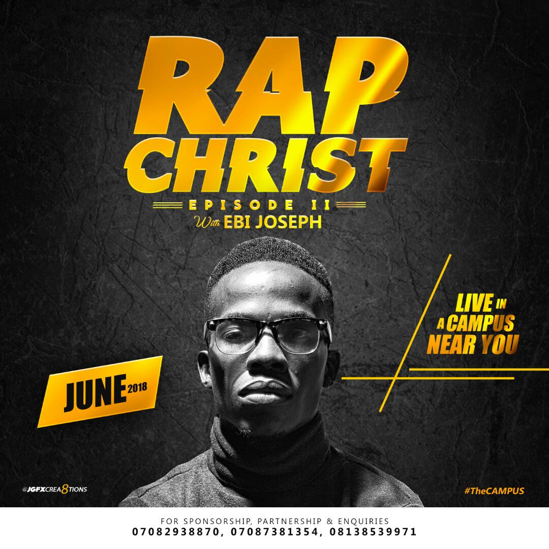 [EVENT] Rap Christ with #EbiJoseph