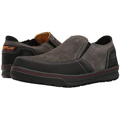 Sepatu Safety Pendek Caterpillar Valor ST Dark Shadows Original