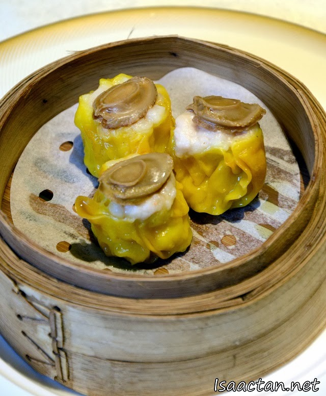 Steamed Siew Mai with Abalone
