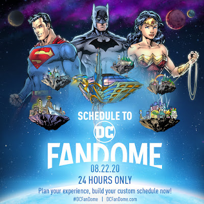 DC FanDome kicks off this Saturday, August 22nd, and Expands to 2 Days!