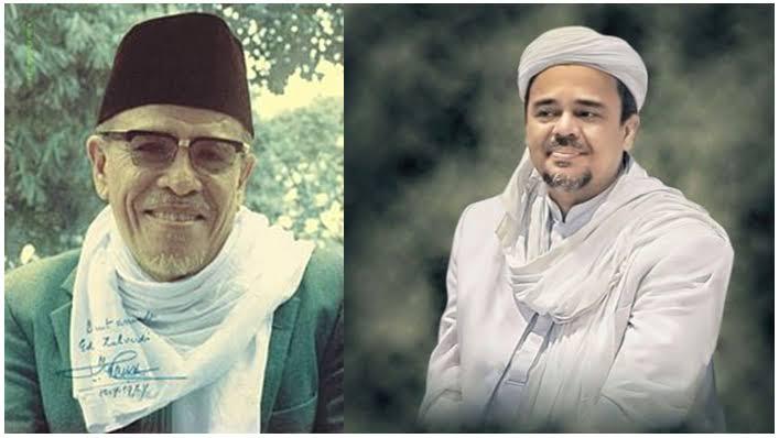 Buya Hamka dan Habib Rizieq Shihab