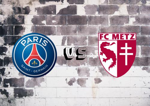 PSG vs Metz  Resumen y Partido Completo