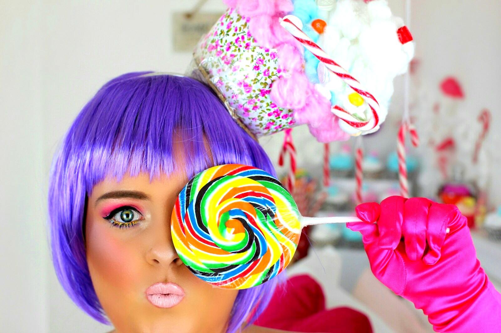 Candy Girl Halloween Makeup Jodie Caughey - Sweet Halloween Makeup