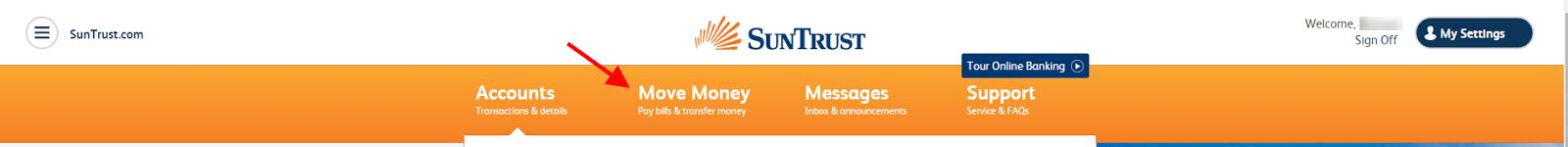 suntrust bank online