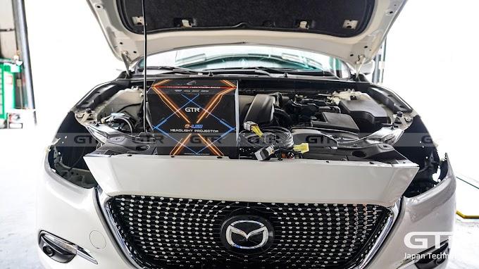 Mazda3 nâng cấp bi G-LED X siêu sáng