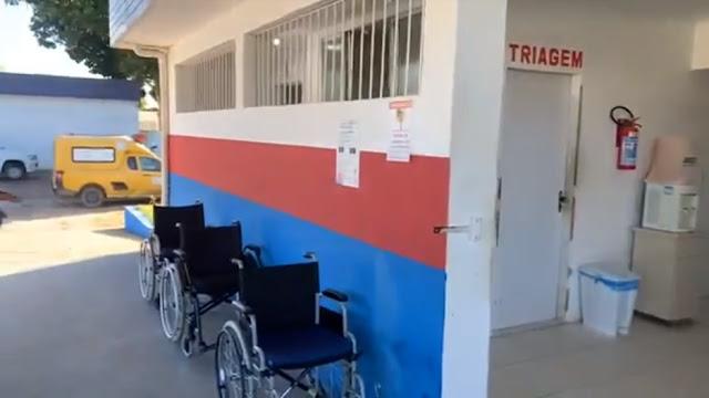 Em primeiro ato como prefeita de Escada, Mary Gouveia, reabre o Hospital Regional para atendimento a população