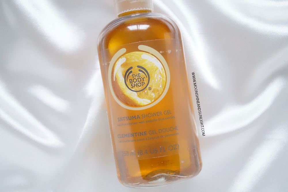 Satsuma the body shop shower gel review