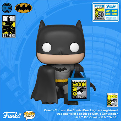 San Diego Comic-Con 2019 Exclusive Batman Pop! Vinyl Figure with SDCC Bag by Funko x DC Comics