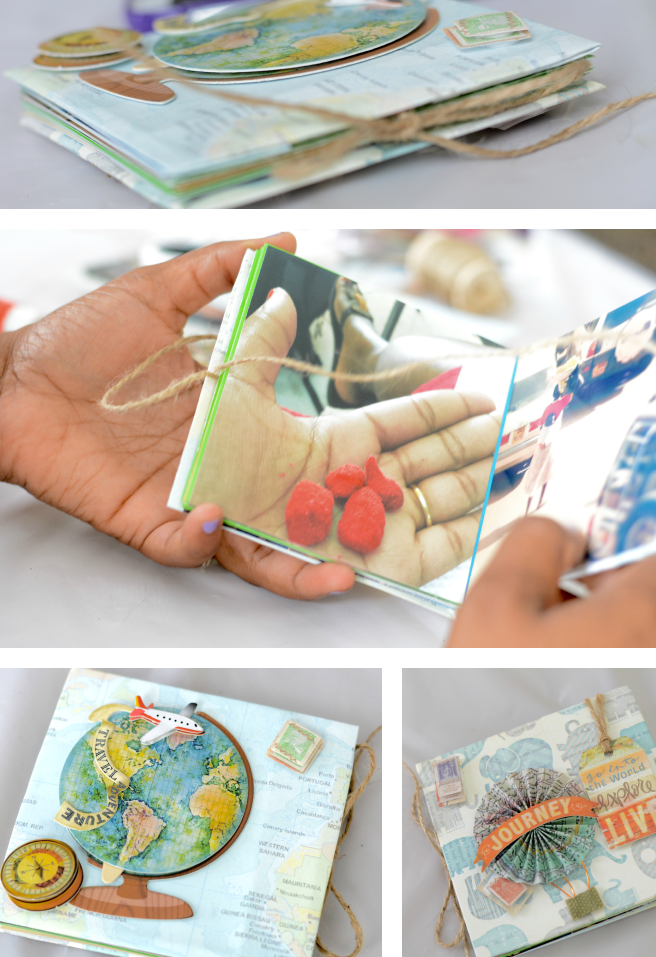 mini photo book created with instagram photos #shop