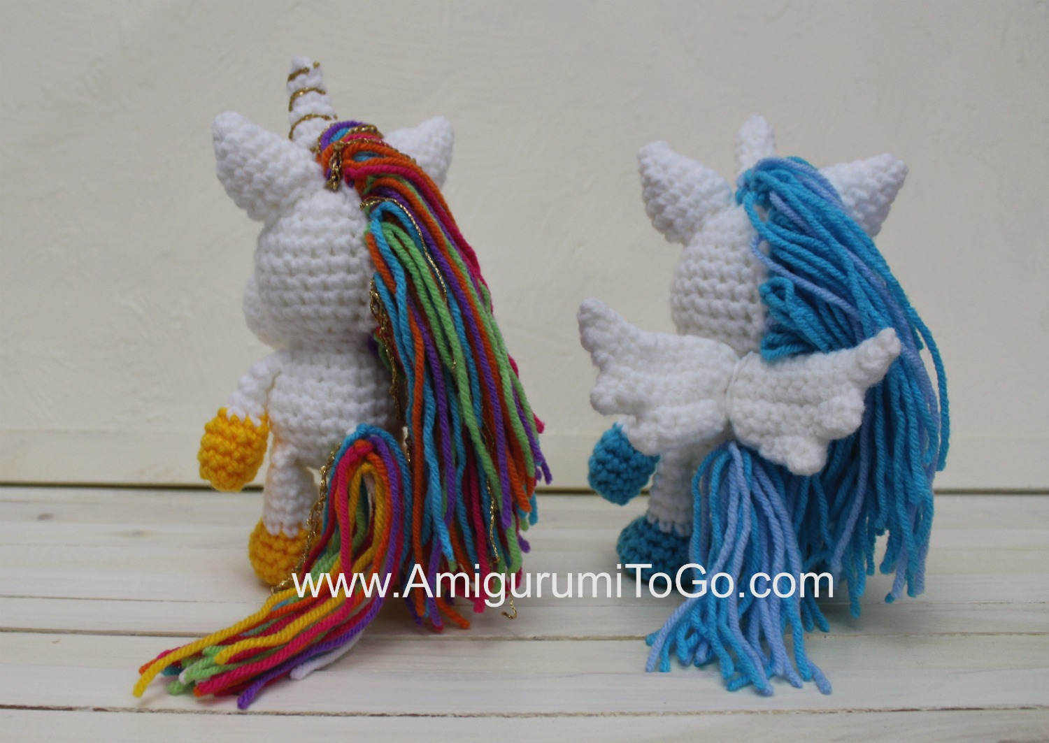 rainbow sprinkles the unicorn amigurumi to go