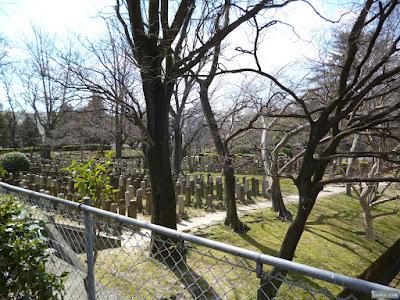 三光神社裏墓地