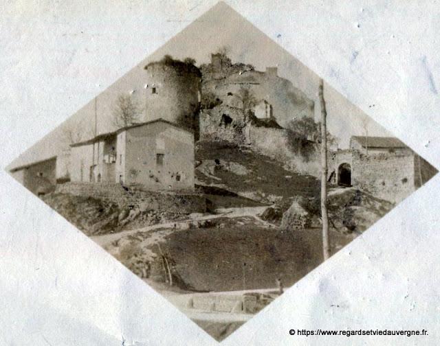 Vieille photo Château à identifier