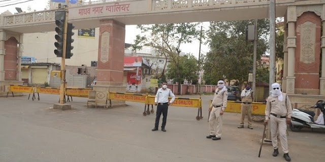 चेतकपुरी, माधव नगर व बसंत विहार सील, चप्पे-चप्पे पर पुलिस का पहरा | GWALIOR NEWS
