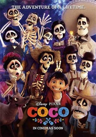 Coco 2017 BRRip 720p Dual Audio In Hindi English ESub