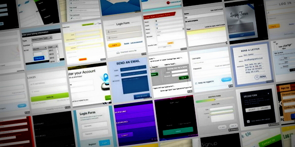 40 formulaires moderne et gratuit  css  html et jquery