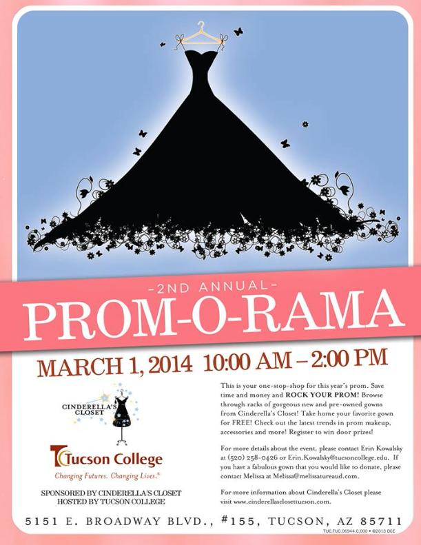 Arizona Families: Prom-o-Rama Free Prom Dresses 3/1/14 Tucson