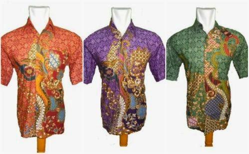 model baju batik motif pola