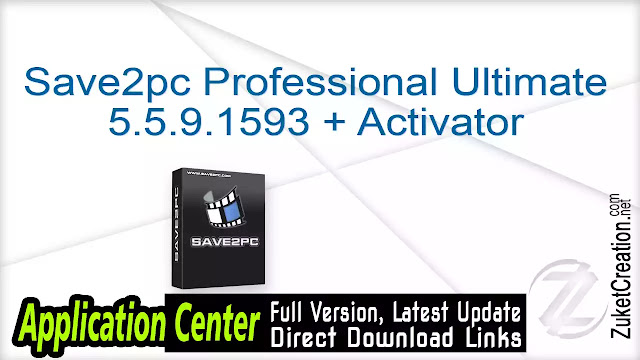 Save2pc Professional Ultimate 5.5.9.1593 + Activator