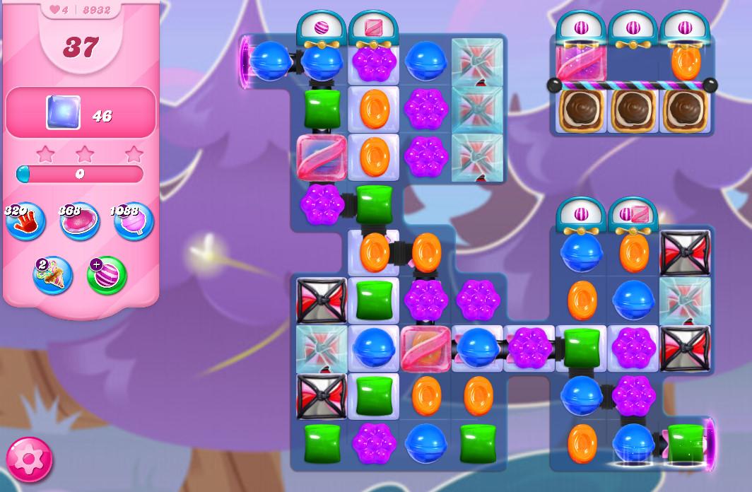 Candy Crush Saga level 8932