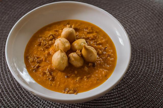 Zupa marchewkowo imbirowa