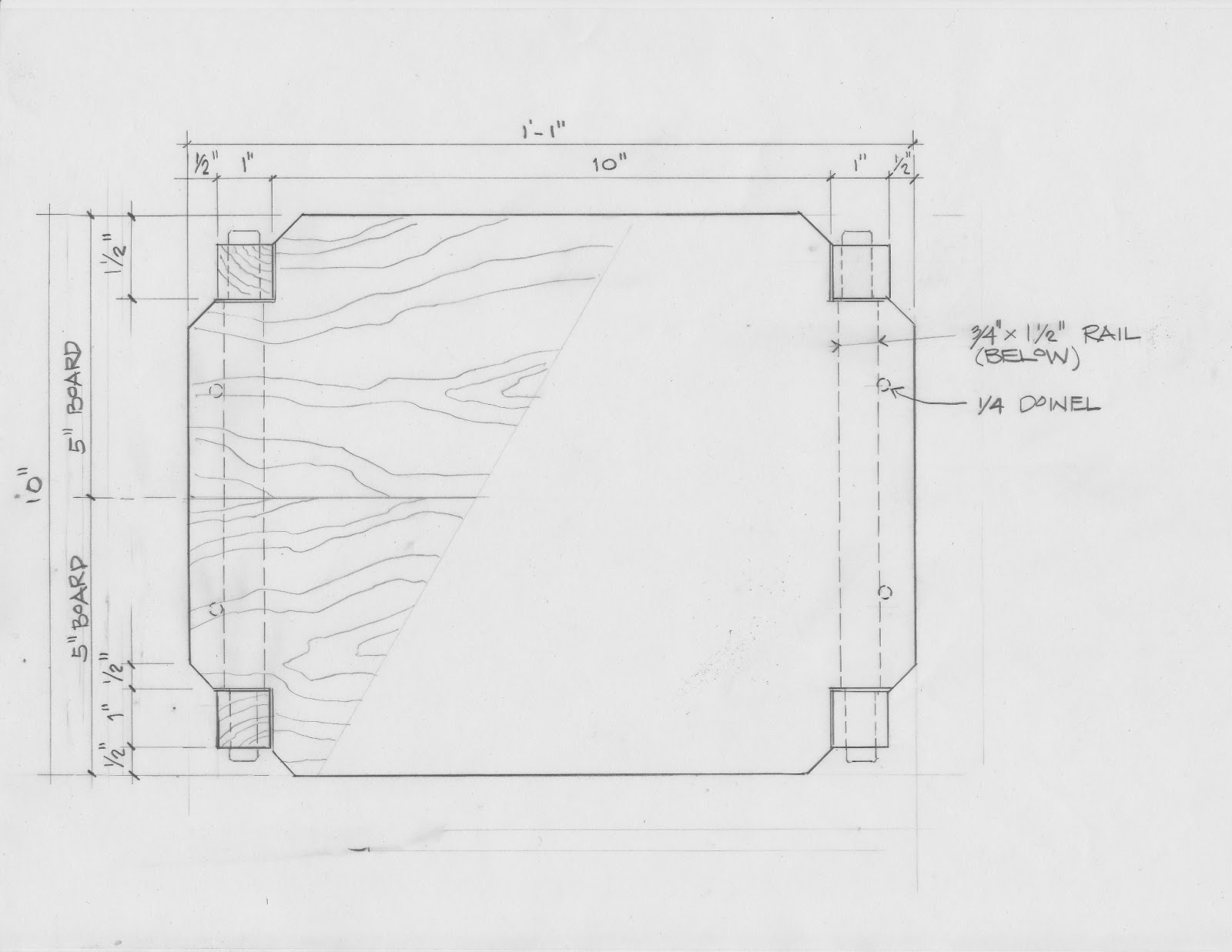 SIMPLE KNOCK DOWN SIDE TABLE | WOODY'S DIY FURNITURE