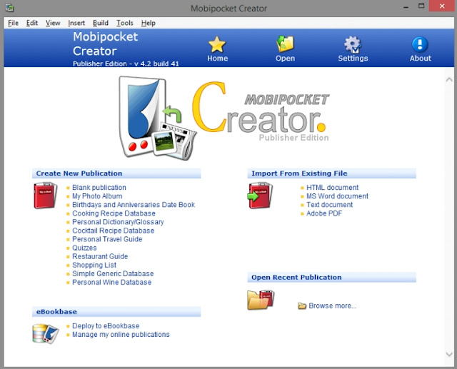 Mobipocket eBook Creator