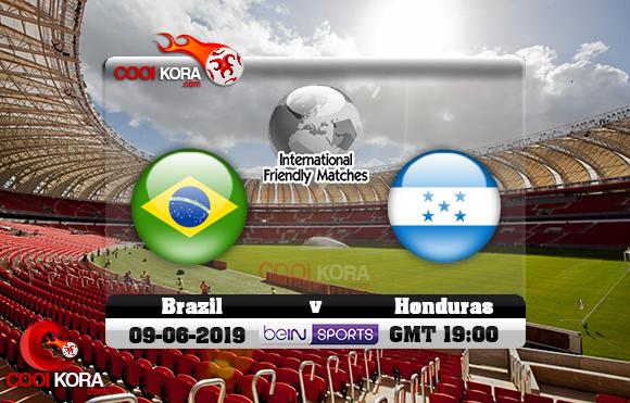 مشاهدة مباراة البرازيل والهندوراس اليوم 9-6-2019 مباراة ودية
