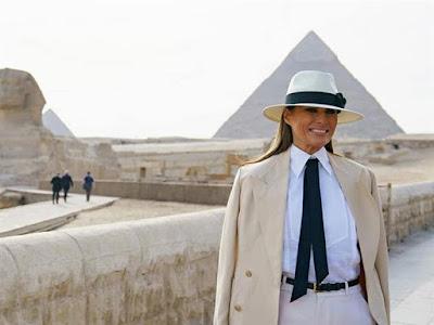وزارة الخارجية الأمريكية, القاهرة, ميلا نيا ترامب, مصر,
